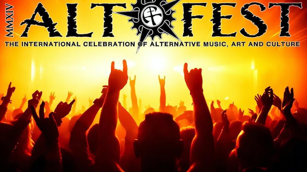 Alt-Fest - multi genre, crowd led Alternative festival project video thumbnail