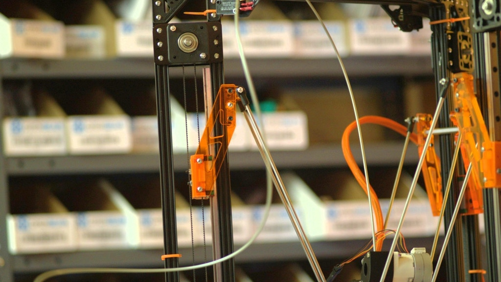 OpenBeam Kossel Pro - A new type of 3D Printer project video thumbnail