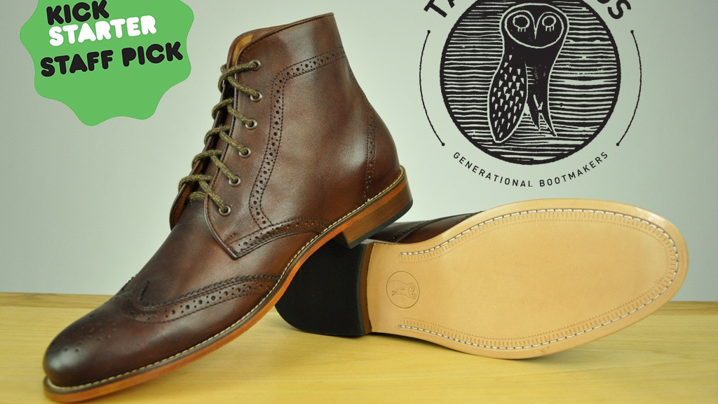 Tawny Goods: Generational Bootmakers project video thumbnail