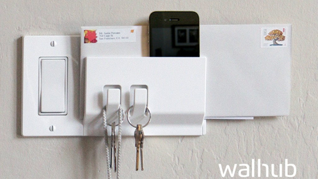Walhub: Functional switch plates project video thumbnail