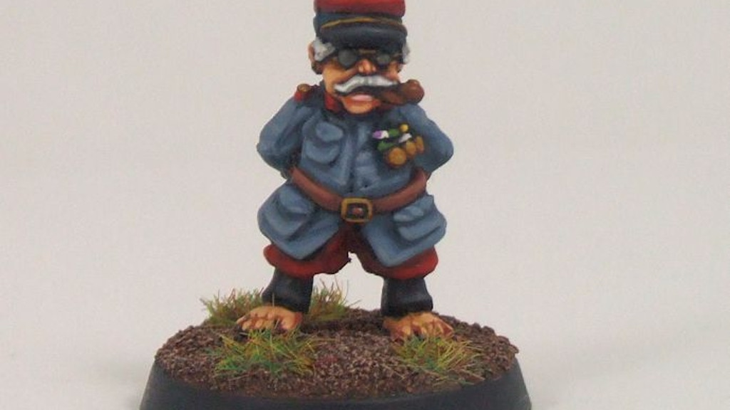 Black Hat Miniatures : WW1 French Halflings project video thumbnail