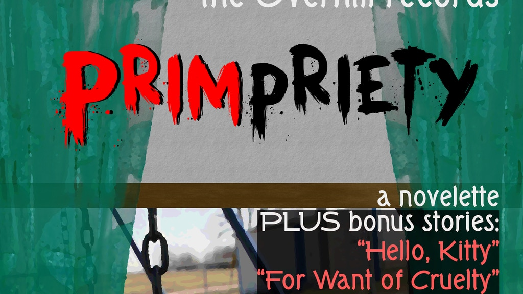 """Project image for Audiobook for """"PRIMpriety"""" & other stories of Overhill"""