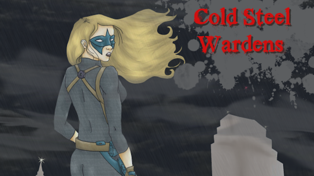 Cold Steel Wardens:  Roleplaying in the Iron Age of Comics project video thumbnail