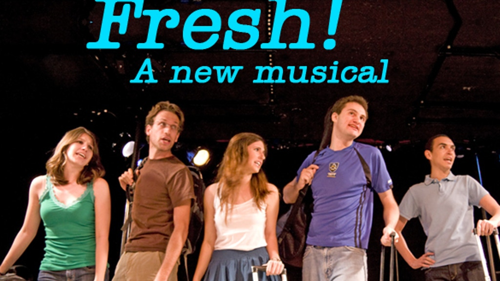 """""""Fresh!"""" A New Musical - Staged Reading in NYC project video thumbnail"""