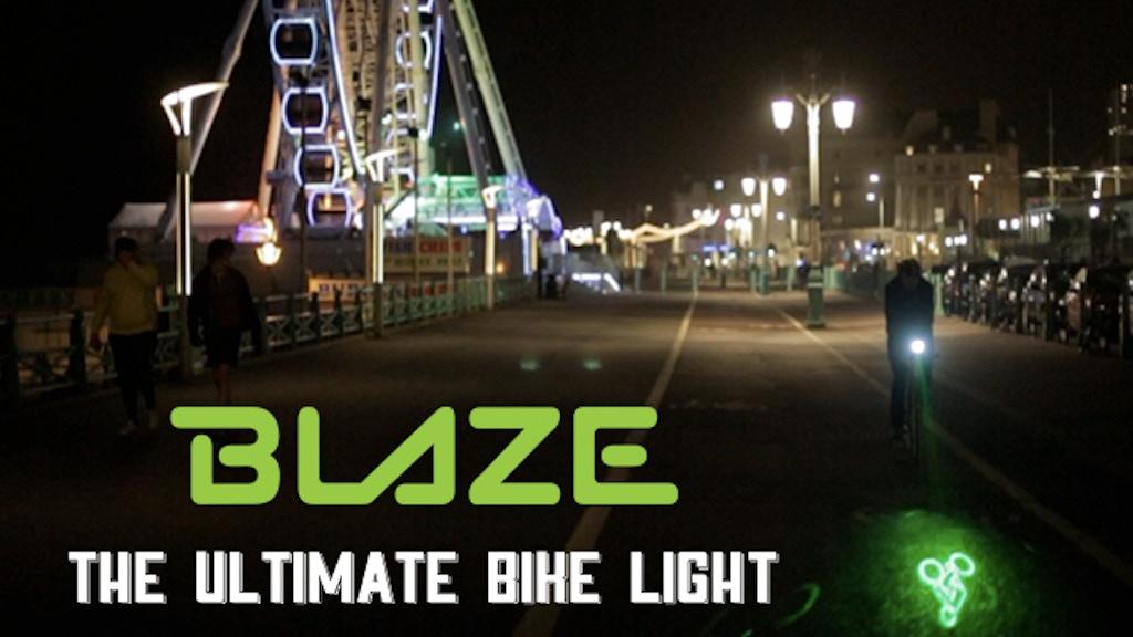 BLAZE Bike Light project video thumbnail