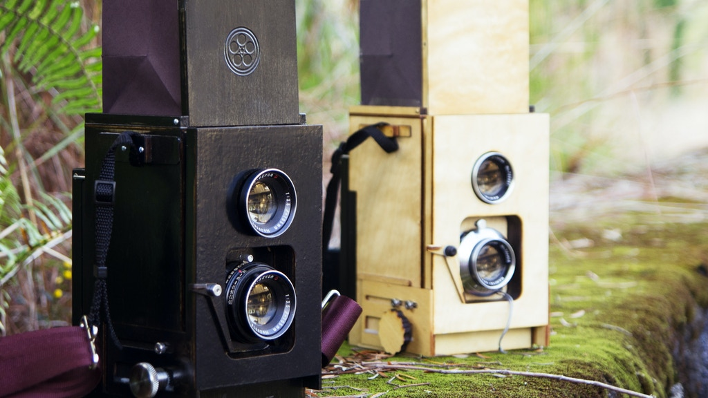 Duo: A DIY twin lens reflex camera for instant film project video thumbnail