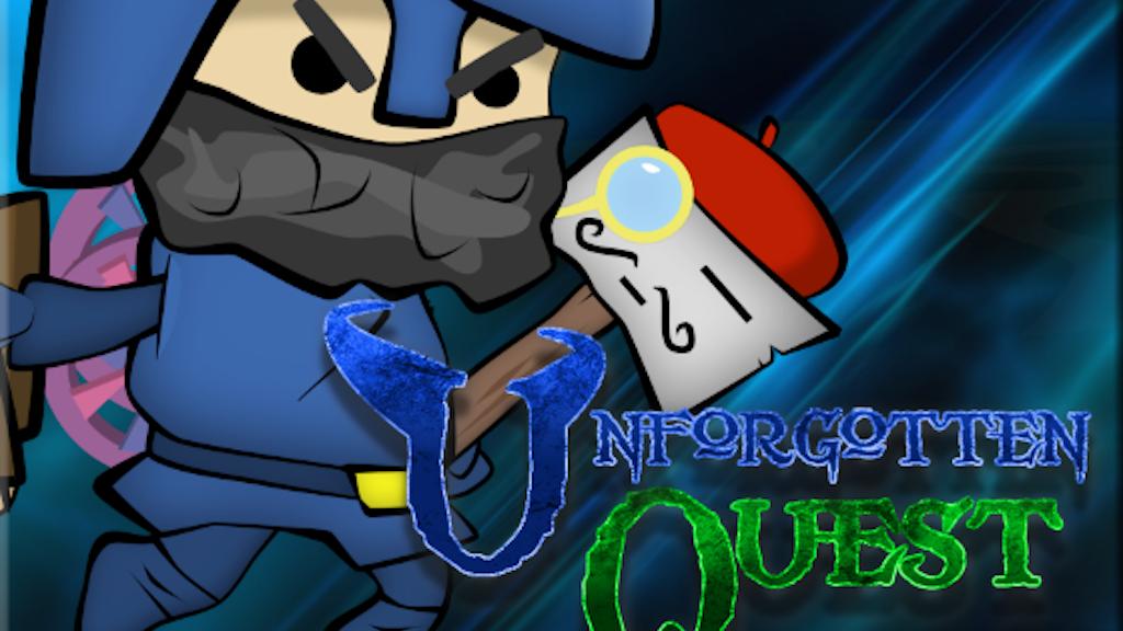 Unforgotten Quest project video thumbnail