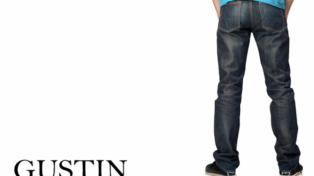 GUSTIN: Redefining premium menswear, starting with denim. project video thumbnail