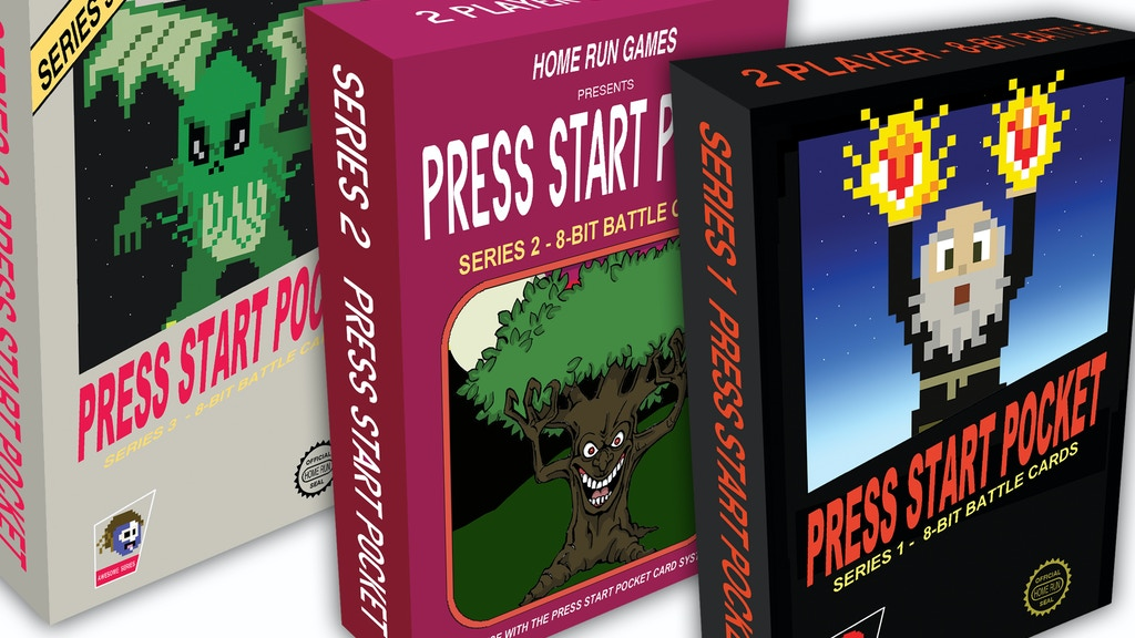 Press Start Pocket, 2 - 6 player 8-Bit Table Top Battle project video thumbnail