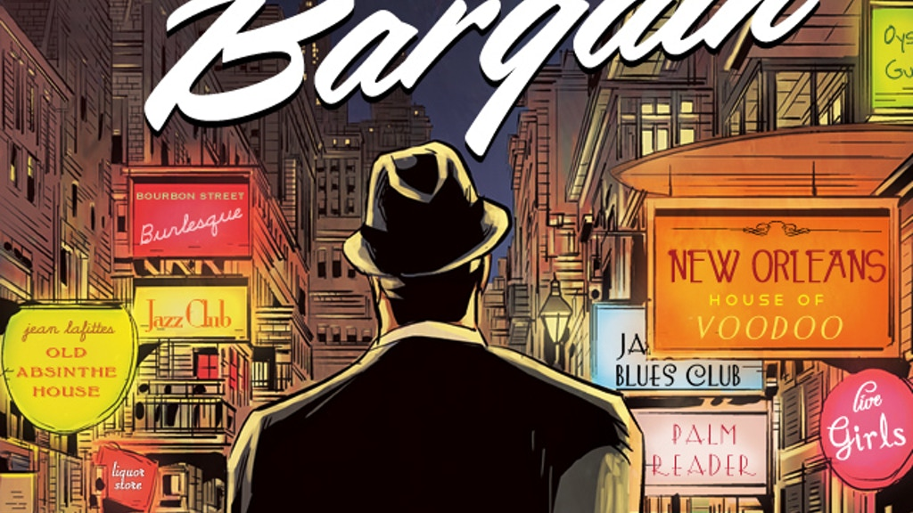 The Bargain: A Supernatural Graphic Novel Set In The 1950's project video thumbnail