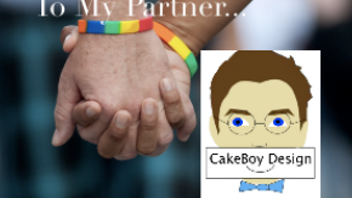 CakeBoy Design, meaningful cards for same sex couples!