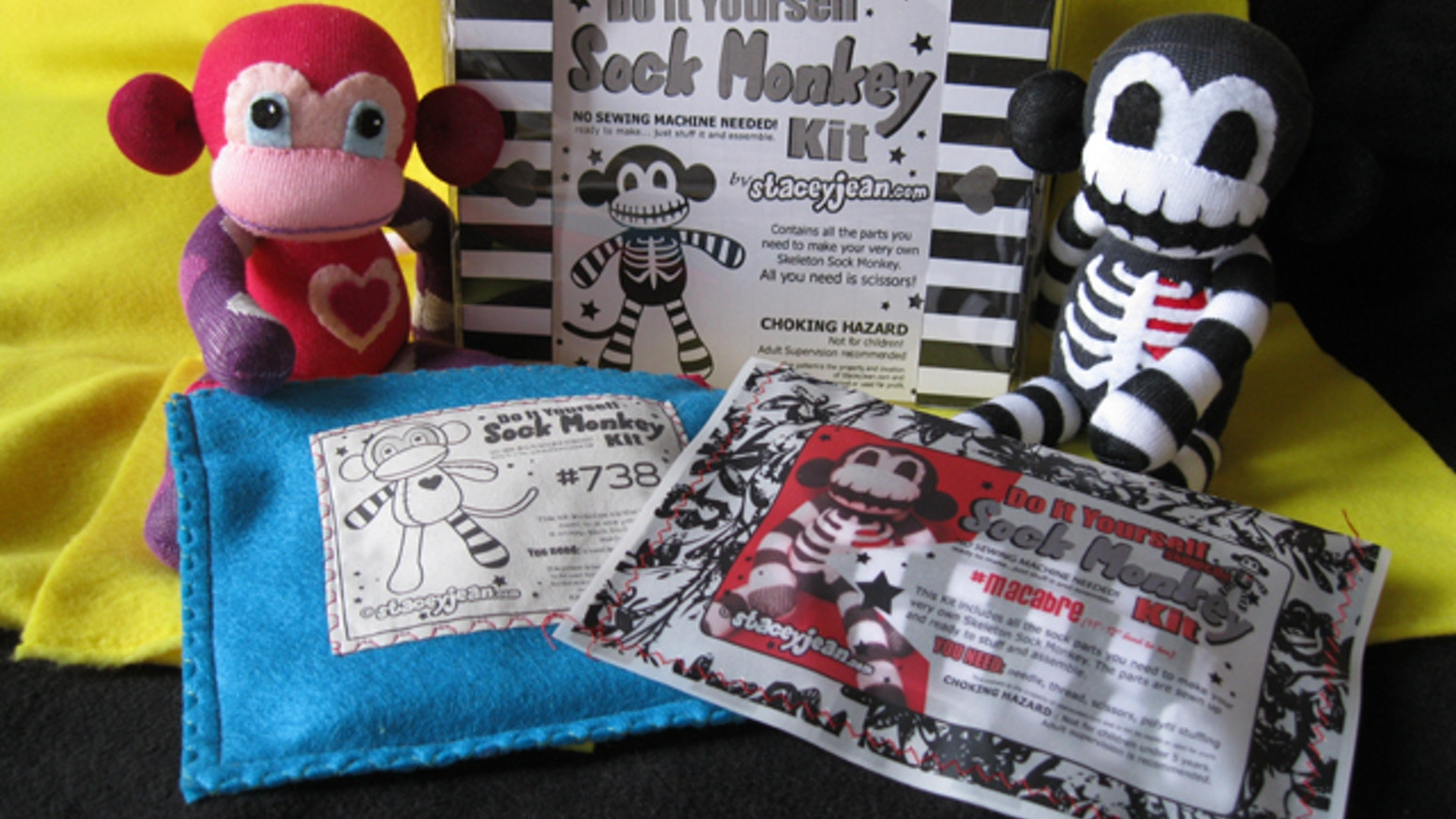 Do it yourself sock monkey kits by stacey jean kickstarter do it yourself sock monkey kits solutioingenieria Gallery