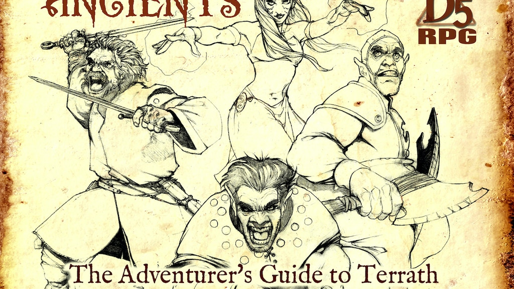 Adventurer's Guide Core Book for Shroud of the Ancients RPG project video thumbnail