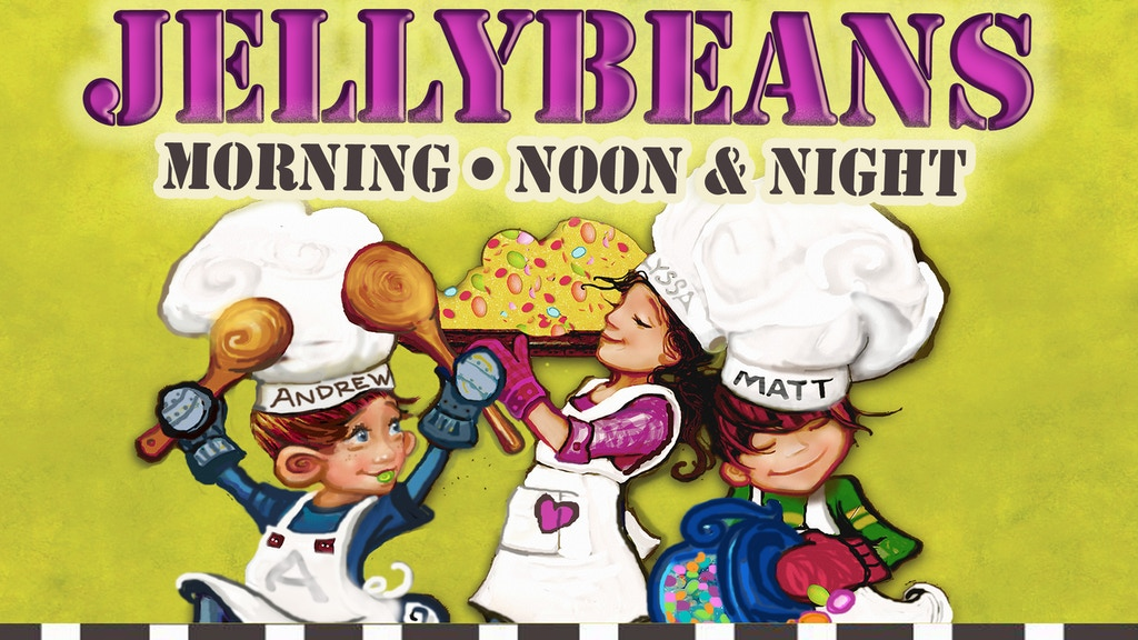 Jellybeans Morning, Noon & Night project video thumbnail