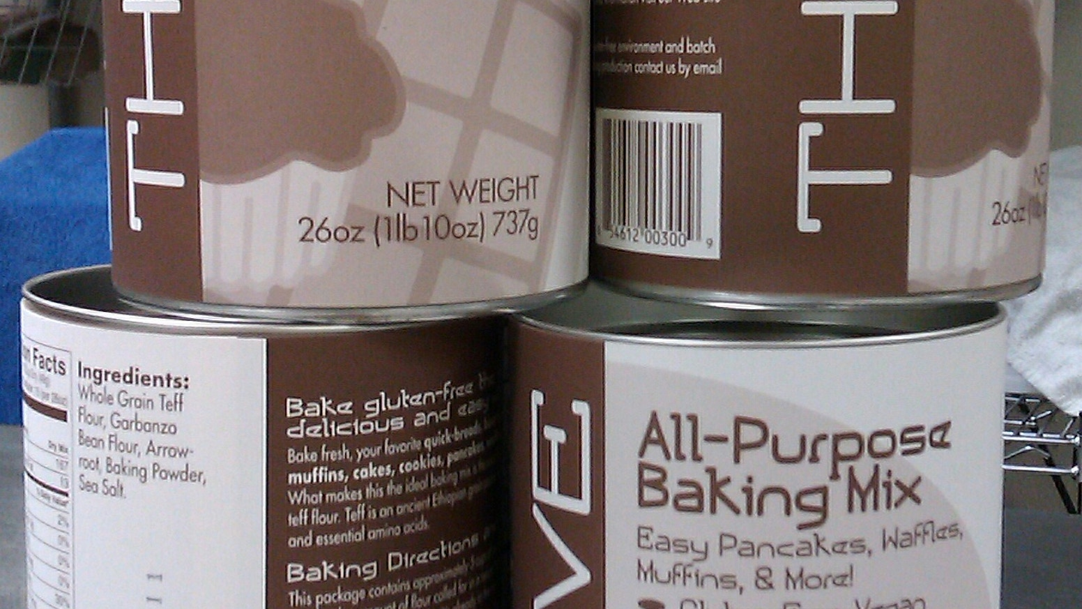 Thrive Baking Company Gluten-free Baking Mix Growth Spurt by