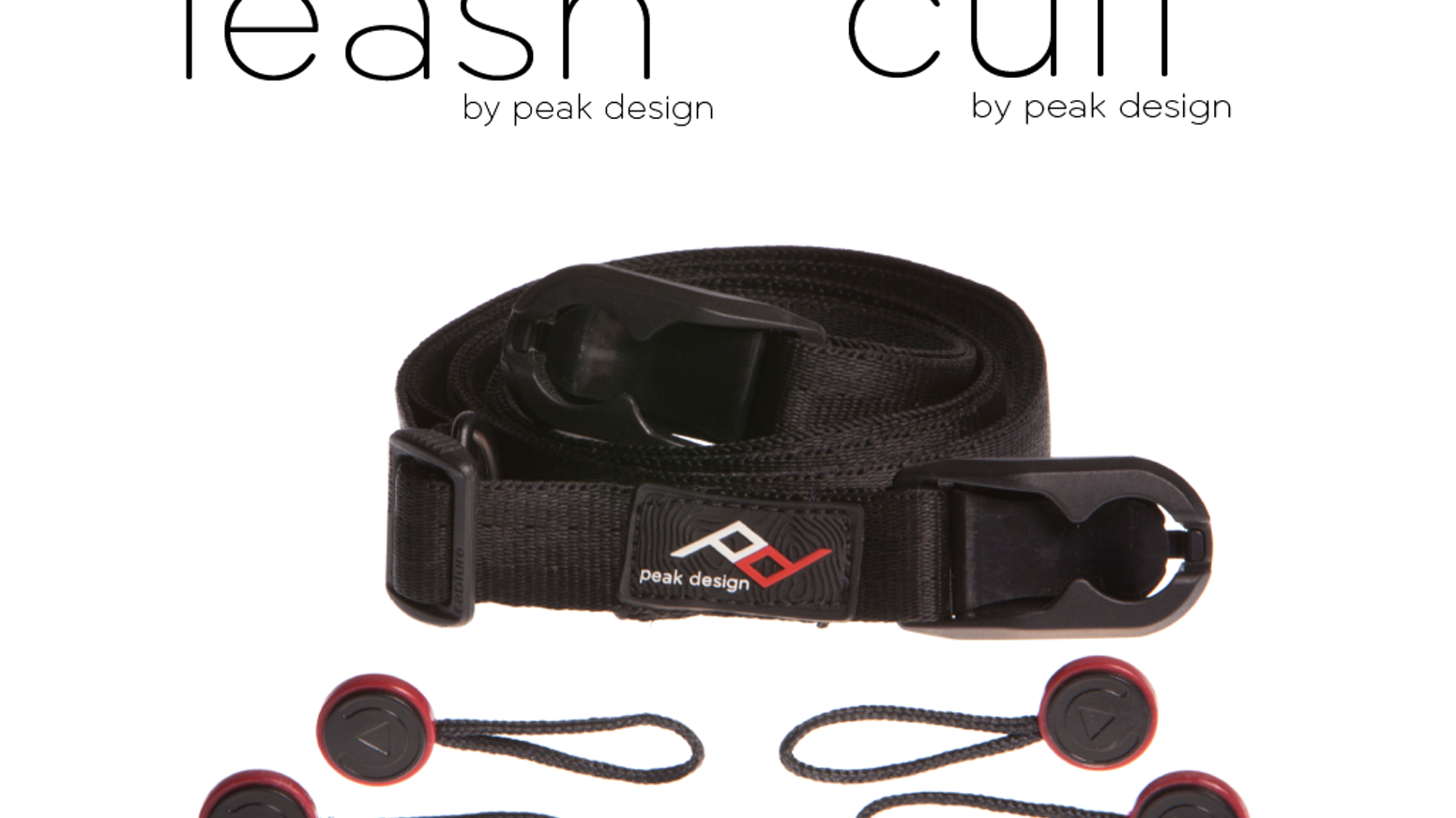 A versatile, quick connecting camera strap - neck strap, sling strap, safety tether and video stabilizer - all in one.