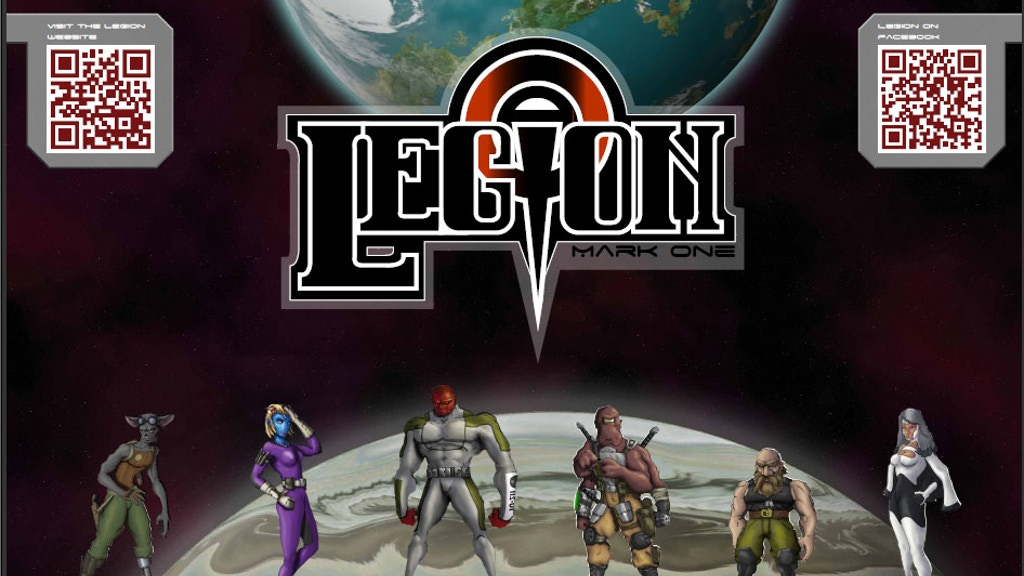 Legion the Game SciFi RPG project video thumbnail