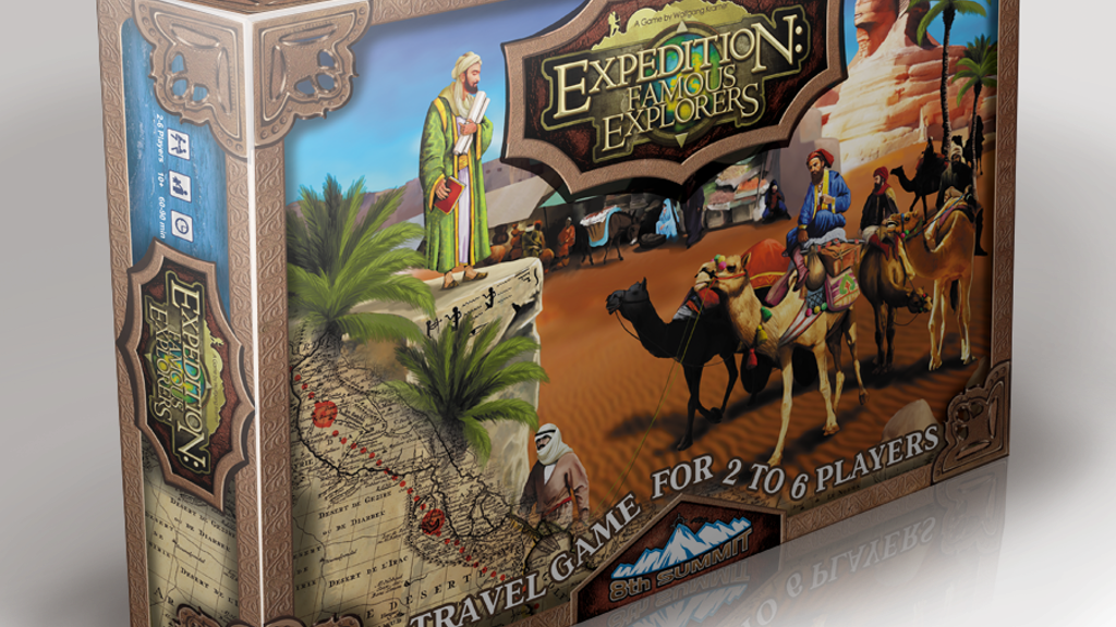 EXPEDITION: FAMOUS EXPLORERS - NOW WITH FREE MINIATURES! project video thumbnail
