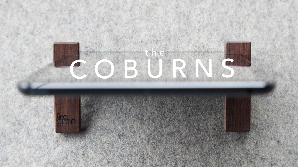 the COBURNS – iPad stands project video thumbnail