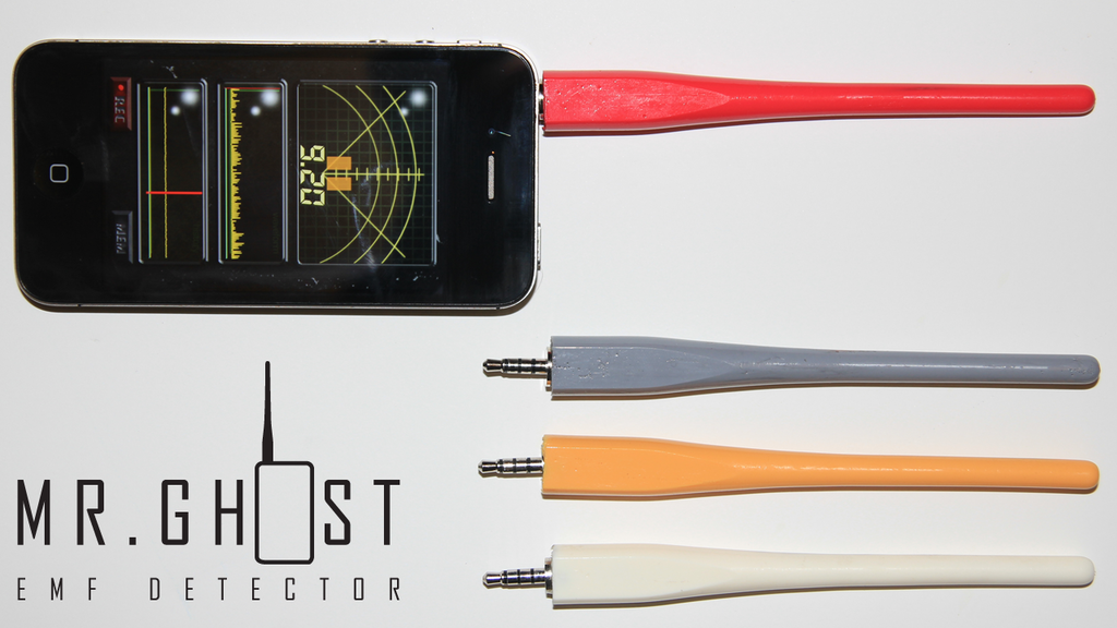 Mr.Ghost: iPhone EMF Detector project video thumbnail