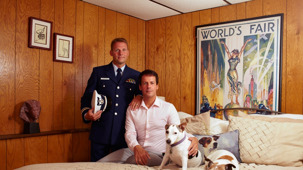 Portraits of same-sex military couples project video thumbnail