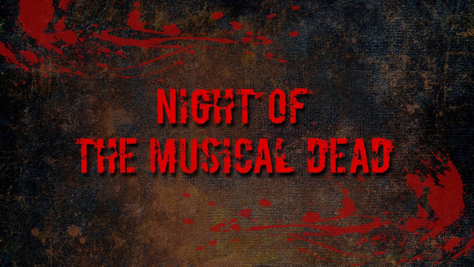 Night of the Musical Dead (the proof of concept film) by