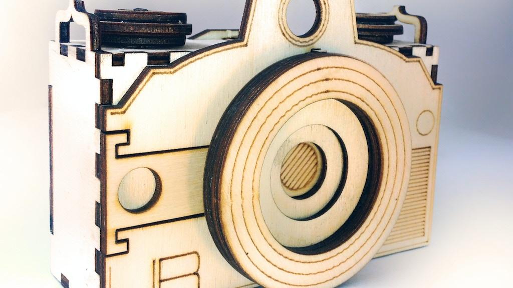 Original Pin: The custom, durable, flat-pack pinhole camera. project video thumbnail