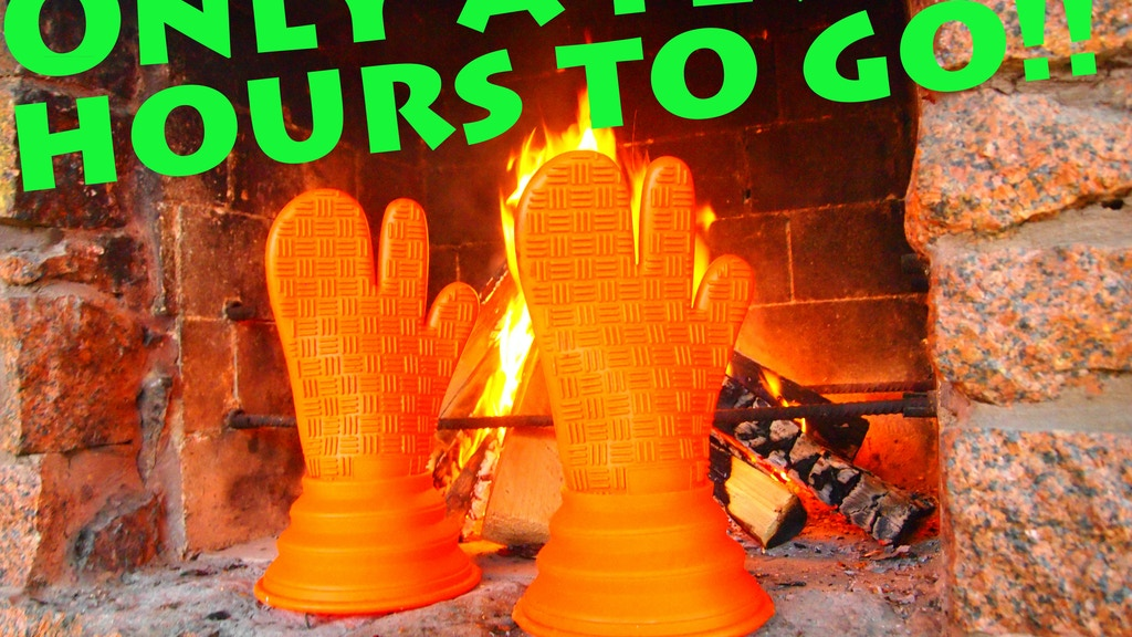 Magic cooking gloves - integral part of your BBQ experience! project video thumbnail