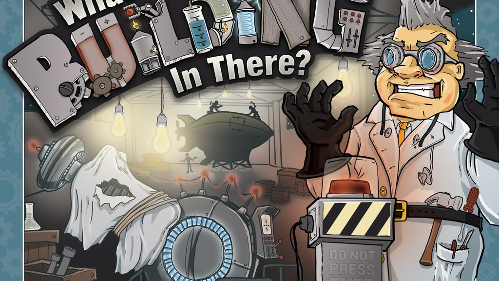 What's He Building In There? project video thumbnail