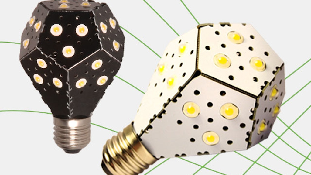 NanoLight - The world's most energy efficient lightbulb! project video thumbnail