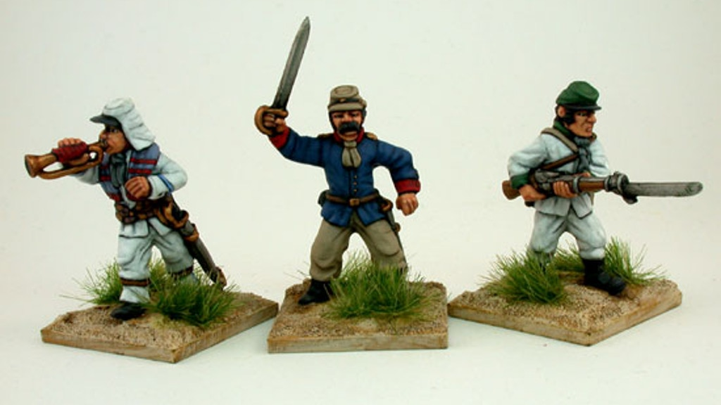 Project image for THE PACIFIC WAR  1879 - 1884: TABLETOP MINIATURES RANGE