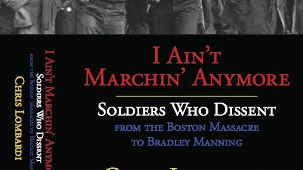 'I Ain't Marching Anymore: Soldiers And Dissent project video thumbnail