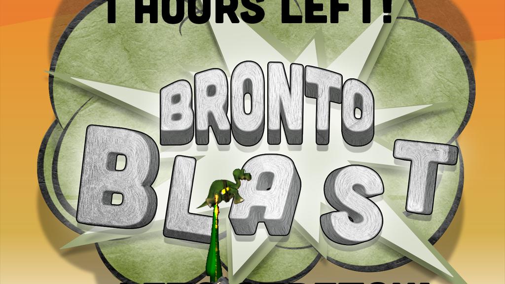 Bronto Blast : Dino Tootin', Asteroid Apocalypse Platformer project video thumbnail