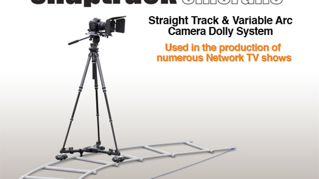 SnapTrack Cinerails & Camera Dolly System project video thumbnail