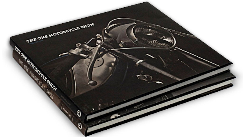 THE ONE MOTORCYCLE SHOW BOOKS V1 & V2 project video thumbnail