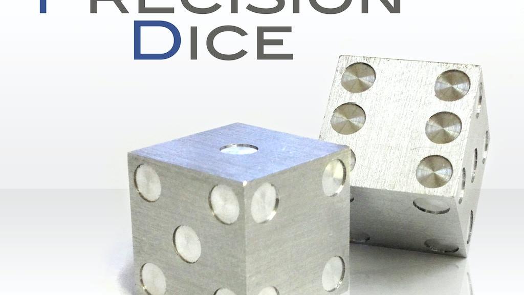 Precision Machined Dice by Amber Rix — Kickstarter