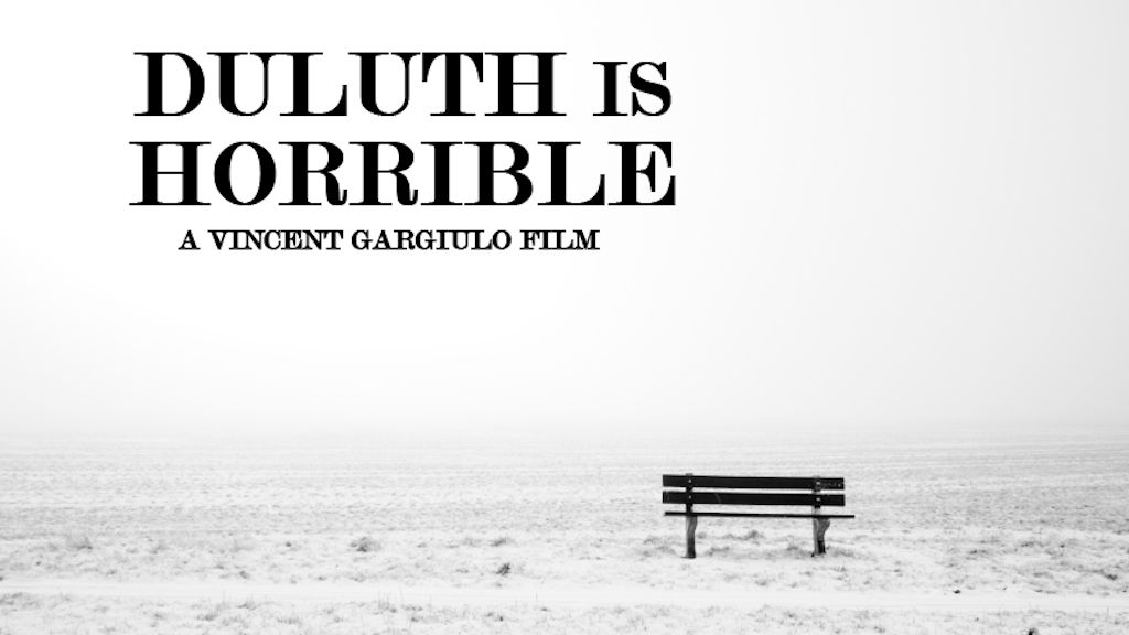 Duluth Is Horrible project video thumbnail