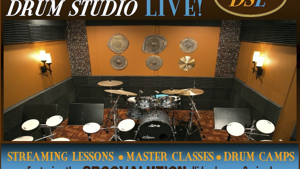 DRUM STUDIO LIVE.COM & The Groovalution Video Lessons DVD project video thumbnail