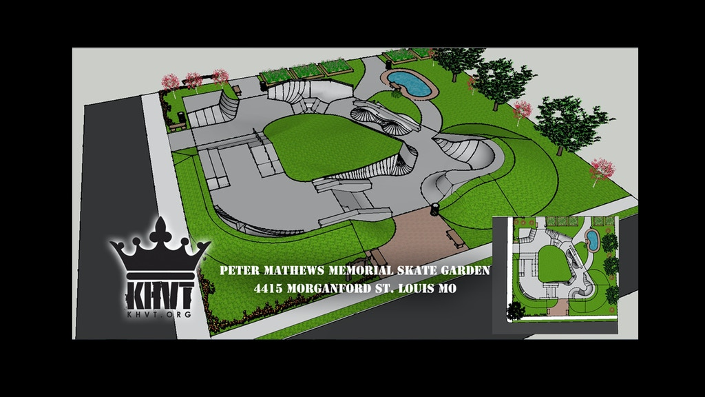KHVT's memorial skate garden in St. Louis Missouri!!! project video thumbnail