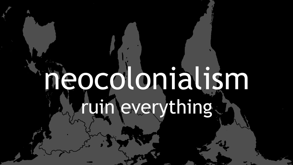 Neocolonialism project video thumbnail