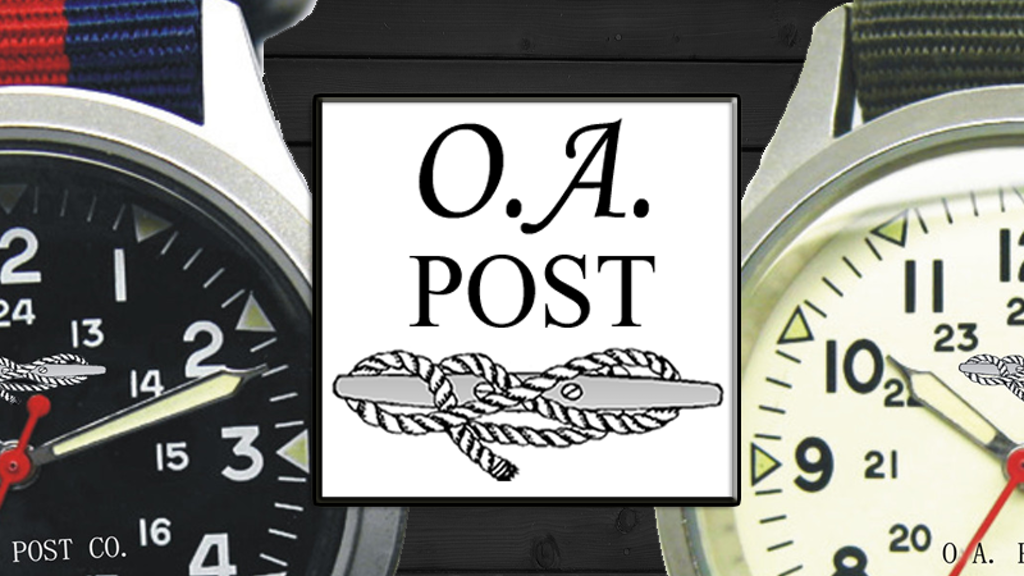 O.A. Post Co. - Swiss Watches with Patterned Nylon Bands project video thumbnail