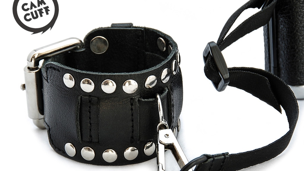 CamCuff – The bold camera wrist strap you'll wear all day. project video thumbnail