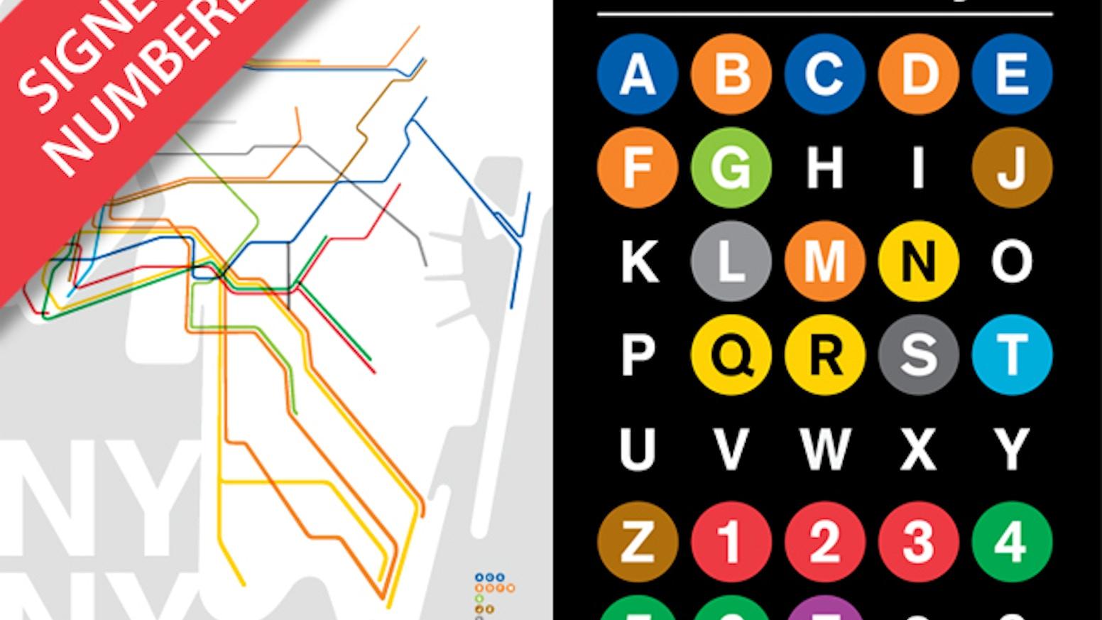 Nyc subway poster size art prints by jody williams kickstarter nyc subway poster size art prints biocorpaavc Gallery