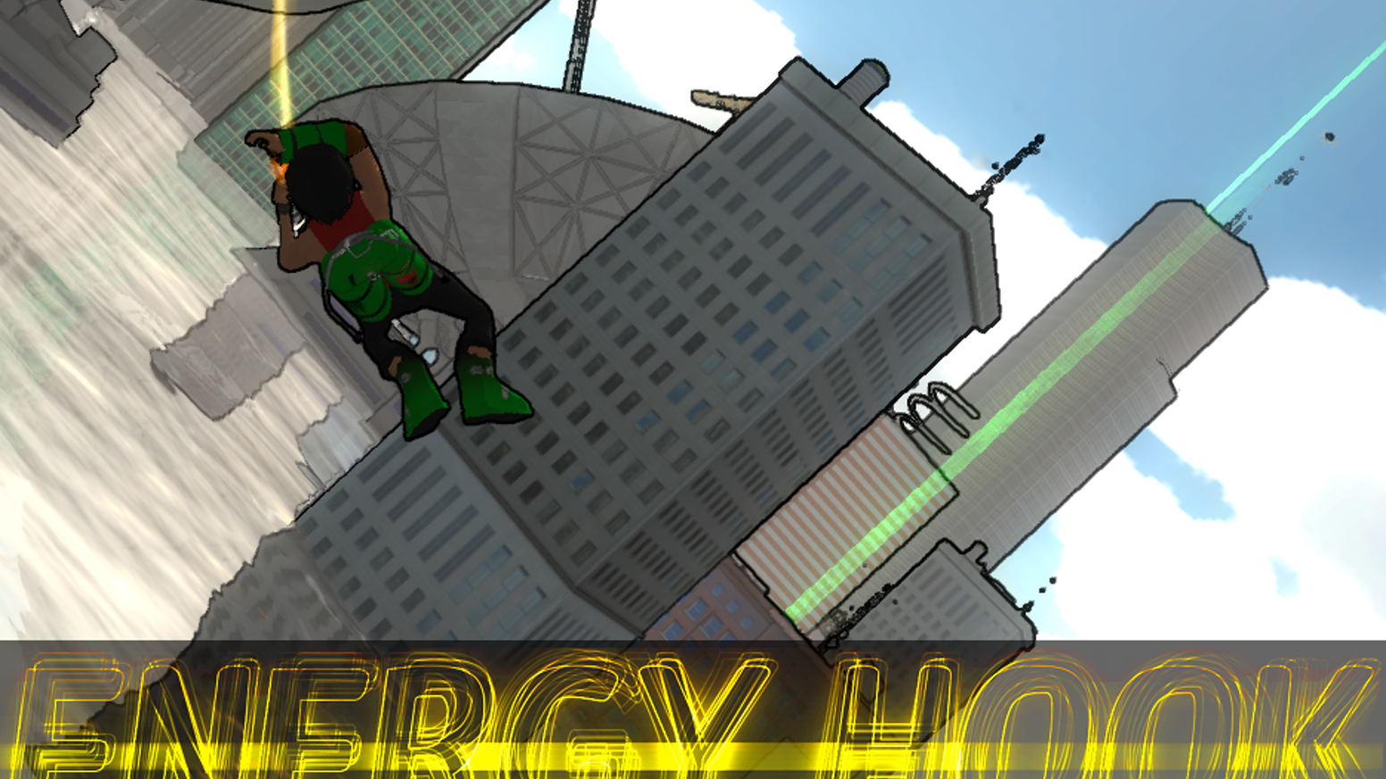 Energy Hook is a grapple-and-swing-and-run-on-walls-for-style game by Jamie Fristrom, creator of the Spider-Man 2 game.