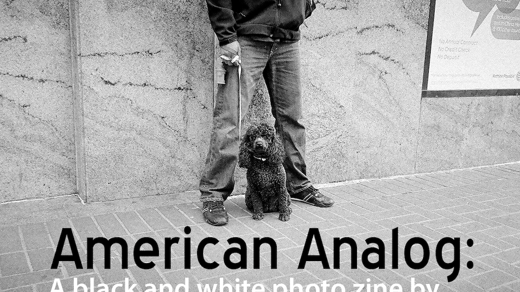American Analog: a black & white photo zine project video thumbnail