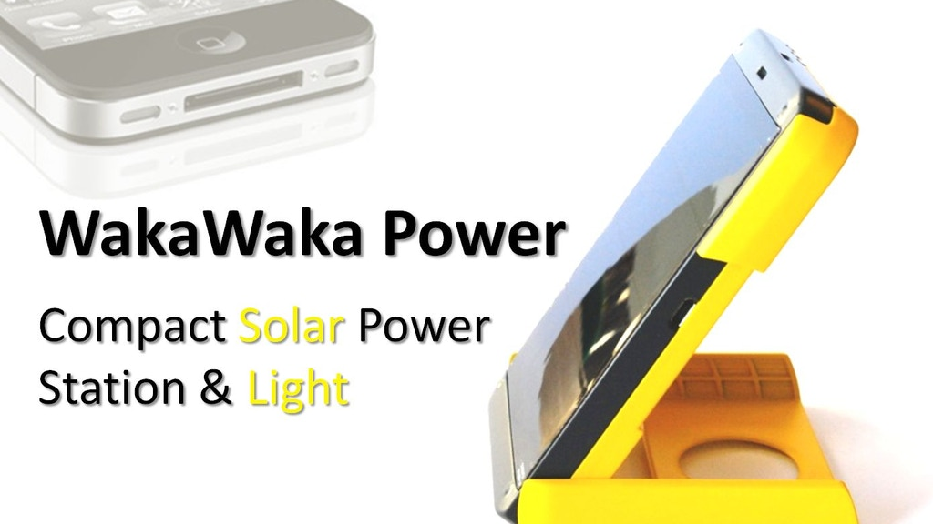WakaWaka Power: the Best Compact Solar Power Station & Light project video thumbnail