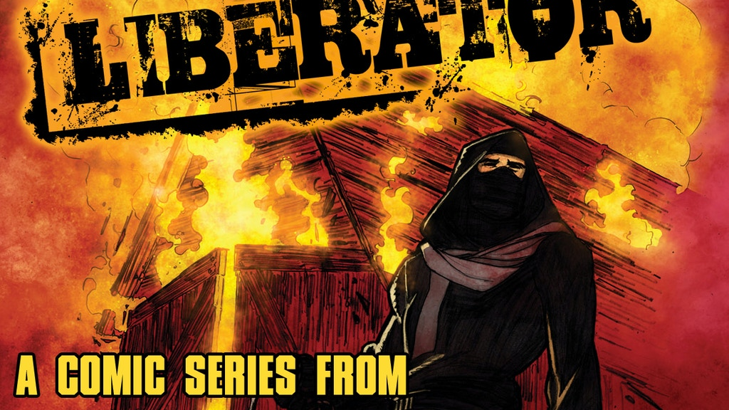 Liberator : 4 Issue Comic Series by Matt Miner & Joel Gomez project video thumbnail