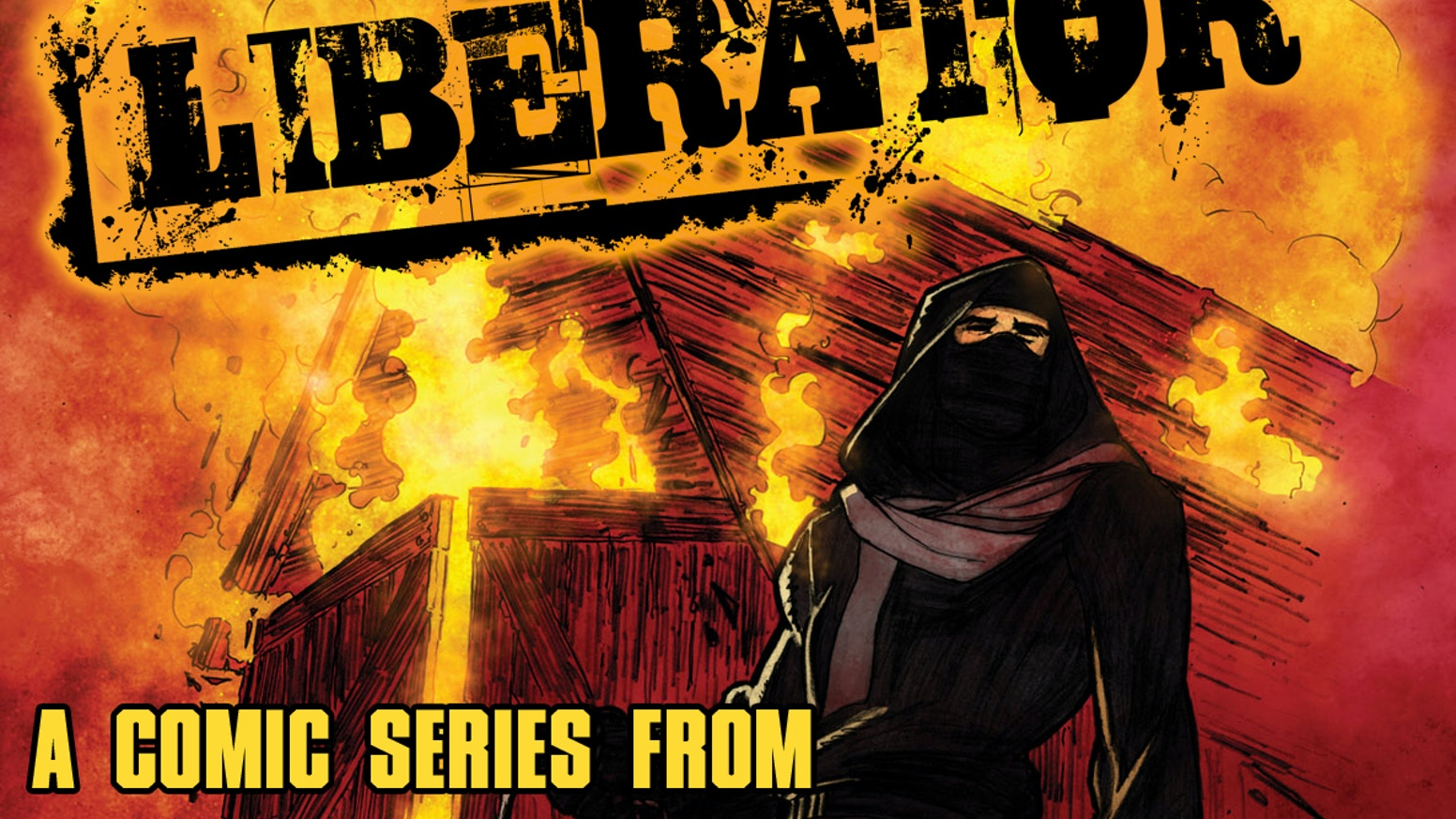 Liberator is a unique and beautifully illustrated comic book series starring brave heroes risking it all to protect animals.