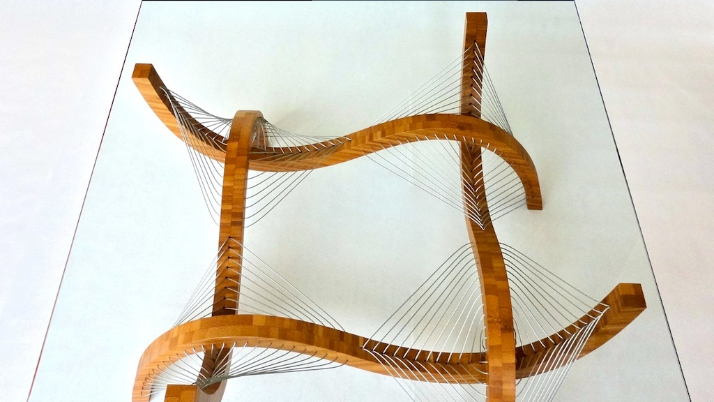Contour coffee table project video thumbnail