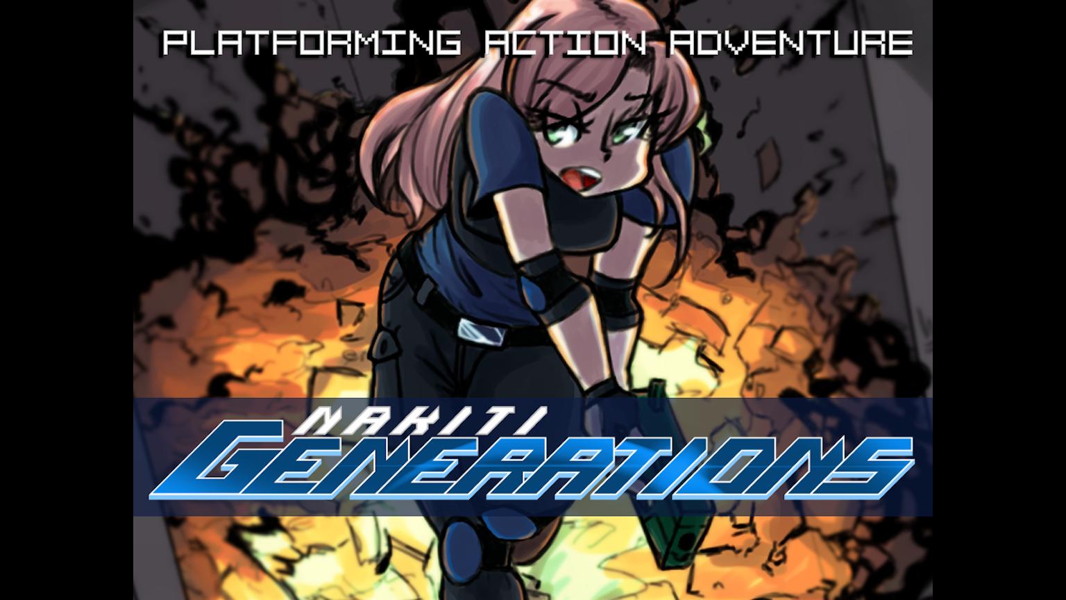 Nakiti Generations 'metroidvania' 2D platformer by Ryan ...